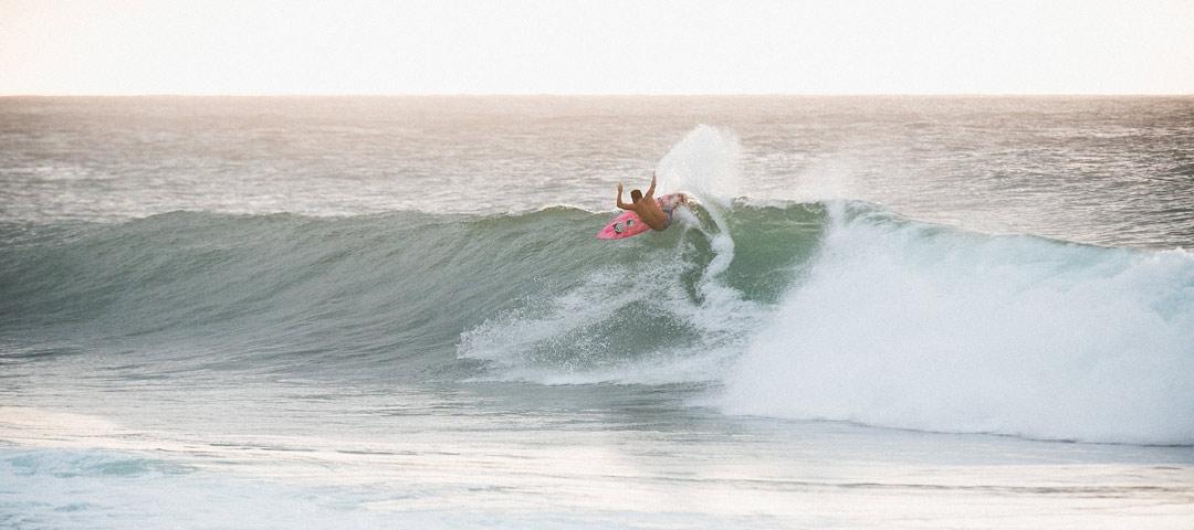 Surfing in Bali - Legian Beach Area